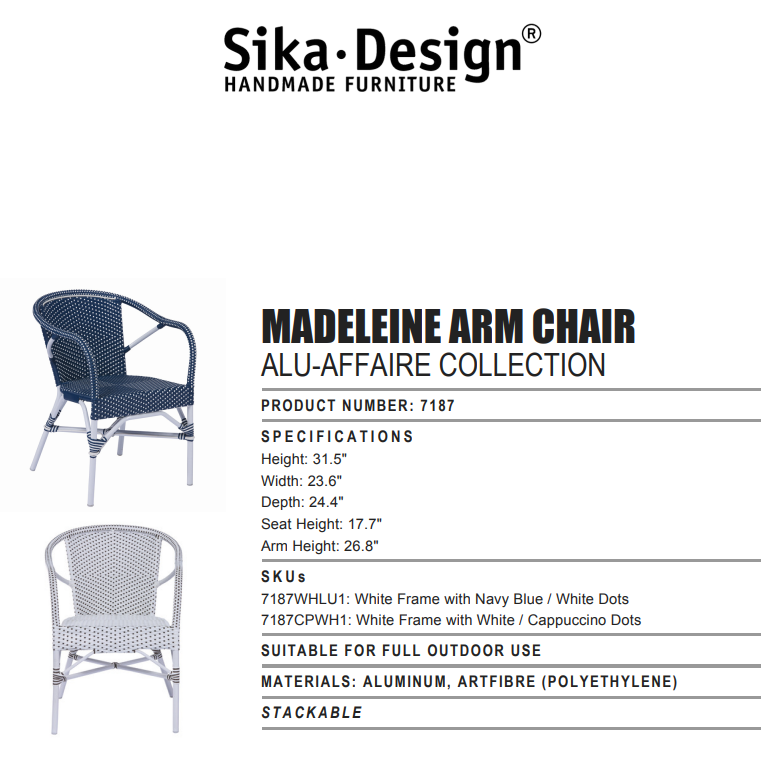 Sika-Design Affaire Sofie Counter Stool - Heaven's Gate Home & Garden
