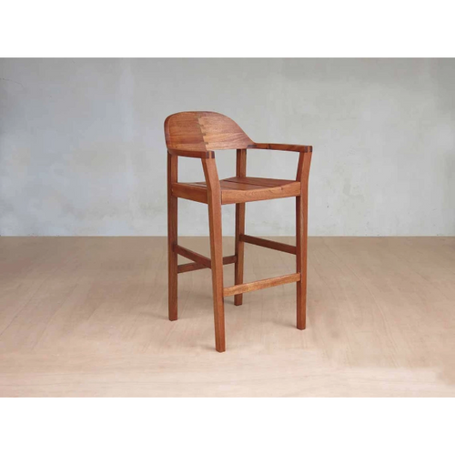 Masaya Xiloa Barstool-Bar Stools-Masaya & Co.-Royal Mahogany-Heaven's Gate Home