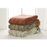 Surya Teegan Woven Acrylic Fringed Throw-Throws-Surya-Heaven's Gate Home