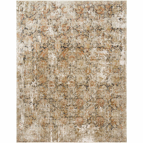 "Loloi Theia THE-02 Traditional Power Loomed Area Rug-Rugs-Loloi-Taupe-1'-6"" x 1'-6"" Sample-Heaven's Gate Home, LLC"