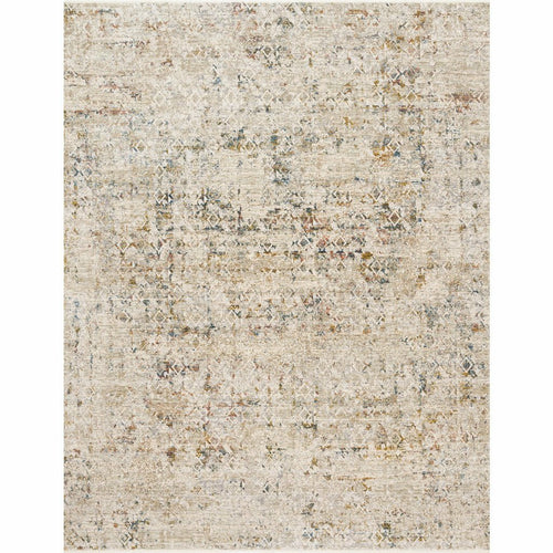 "Loloi Theia THE-04 Traditional Power Loomed Area Rug-Rugs-Loloi-Multi-1'-6"" x 1'-6"" Sample-Heaven's Gate Home, LLC"