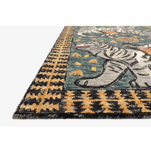Justina Blakeney x Loloi Tigress TIG-01 Contemporary Hooked Area Rug