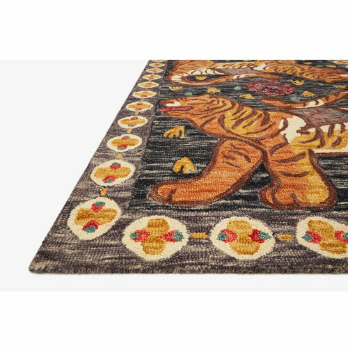 Justina Blakeney x Loloi Tigress TIG-02 Contemporary Hooked Area Rug