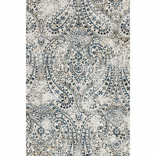 "Loloi Torrance TC-02 Transitional Power Loomed Area Rug-Rugs-Loloi-Ivory-2'-7"" x 4'-Heaven's Gate Home, LLC"
