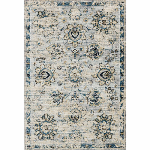 "Loloi Torrance TC-05 Transitional Power Loomed Area Rug-Rugs-Loloi-Gray-2'-7"" x 4'-Heaven's Gate Home, LLC"