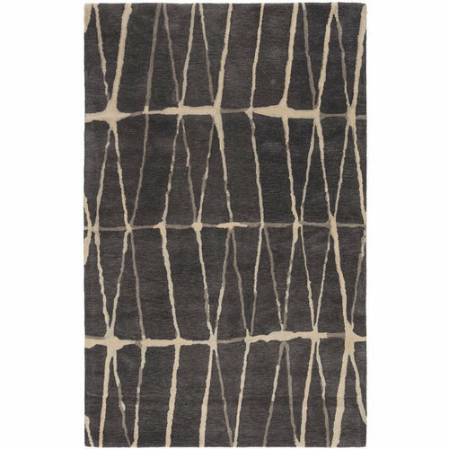 Jaipur Living Town Botticino TOW03 Contemporary Handmade Area Rug-Rugs-Jaipur Living-Gray-5'X8'-Heaven's Gate Home, LLC