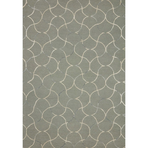 "Loloi Verve VER-05 Contemporary Hand Tufted Area Rug-Rugs-Loloi-Green-18"" x 18"" Sample-Heaven's Gate Home, LLC"