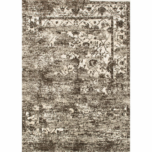 "Loloi Viera VR-01 Contemporary Power Loomed Area Rug-Rugs-Loloi-Brown-1'-6"" x 1'-6"" Sample-Heaven's Gate Home, LLC"