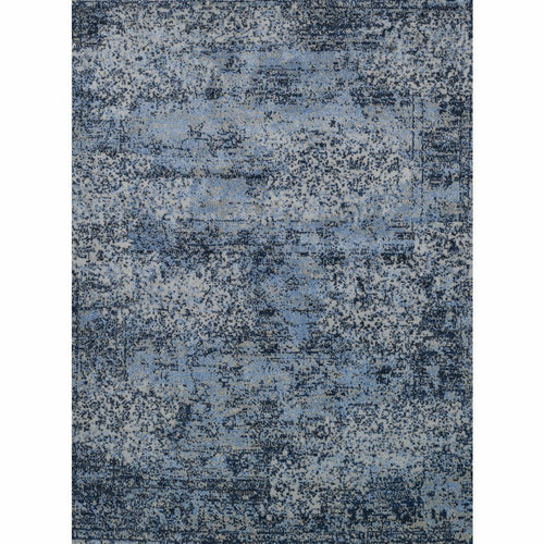 "Loloi Viera VR-06 Contemporary Power Loomed Area Rug-Rugs-Loloi-Blue-1'-6"" x 1'-6"" Sample-Heaven's Gate Home, LLC"