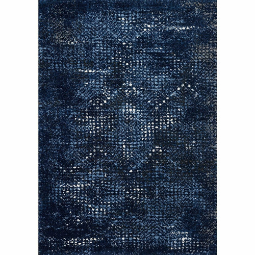 "Loloi Viera VR-08 Contemporary Power Loomed Area Rug-Rugs-Loloi-Blue-1'-6"" x 1'-6"" Sample-Heaven's Gate Home, LLC"