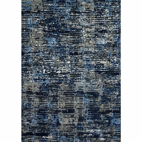 "Loloi Viera VR-09 Contemporary Power Loomed Area Rug-Rugs-Loloi-Blue-1'-6"" x 1'-6"" Sample-Heaven's Gate Home, LLC"