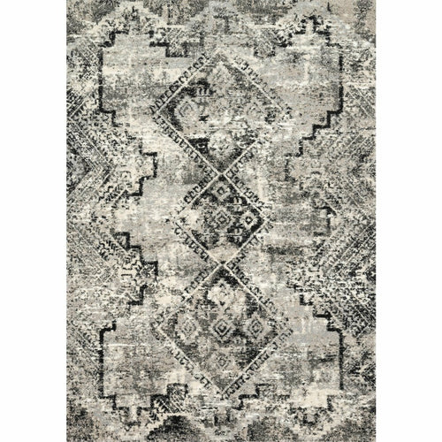 "Loloi Viera VR-10 Contemporary Power Loomed Area Rug-Rugs-Loloi-Black-1'-6"" x 1'-6"" Sample-Heaven's Gate Home, LLC"