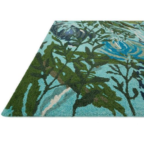Loloi Wild Bloom WV-03 Contemporary Hooked Area Rug-Rugs-Loloi-Heaven's Gate Home, LLC