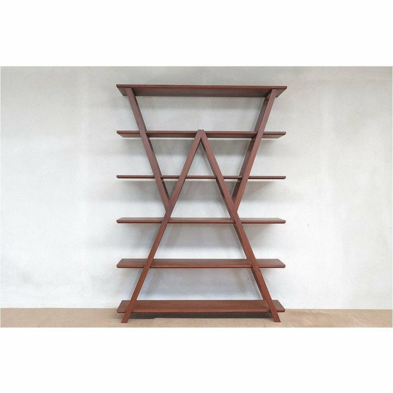 Masaya Watson Standing Hardwood Shelves, Handmade-Shelving-Masaya & Co.-Rosita Walnut-Heaven's Gate Home