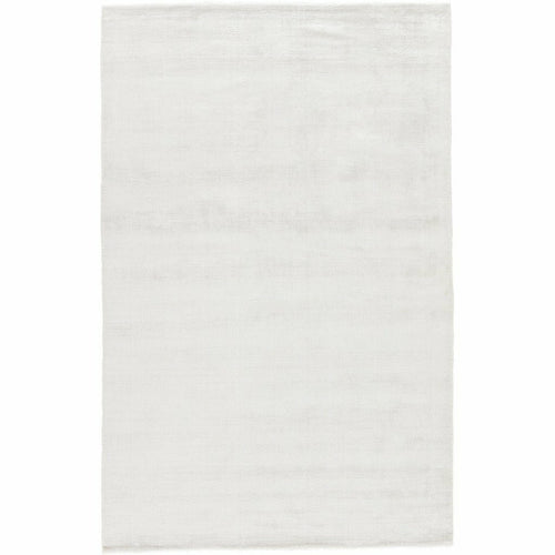 Jaipur Living Yasmin YAS14 Glam Handmade Area Rug-Rugs-Jaipur Living-White-5'X8'-Heaven's Gate Home, LLC