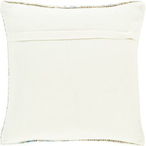 "Surya Coventry CVN-003 Jute Global Pillow-Pillows-Surya-Orange-18"" x 18"" Pillow-Heaven's Gate Home"