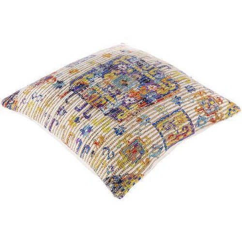 "Surya Coventry CVN-010 Jute Global Pillow-Pillows-Surya-Beige-26"" x 26"" Pillow-Heaven's Gate Home"