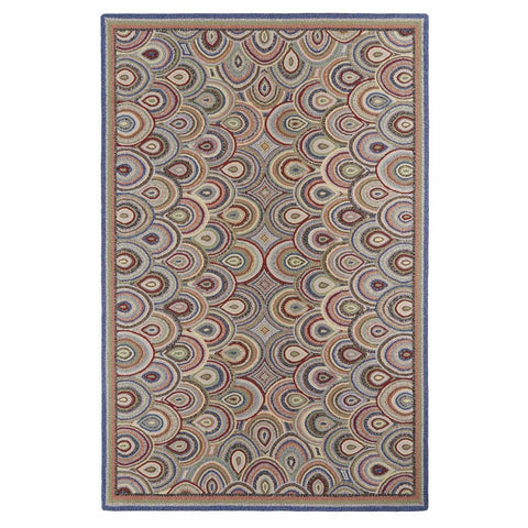 Colorfields Clamshells Rug-Rugs-Colorfields by Company C-2' x 3'-Heaven's Gate Home