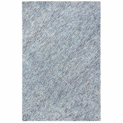 Colorfields Blue Heather Rug, Blue