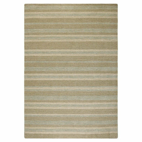 Colorfields Driftwood Stripe Rug, Aqua-Rugs-Colorfields by Company C-2' x 3'-Heaven's Gate Home