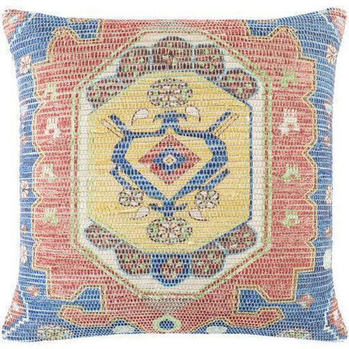"Surya Devonshire DVS-007 Polyester Global Pillow-Pillows-Surya-blue-26"" x 26"" Pillow-Heaven's Gate Home"