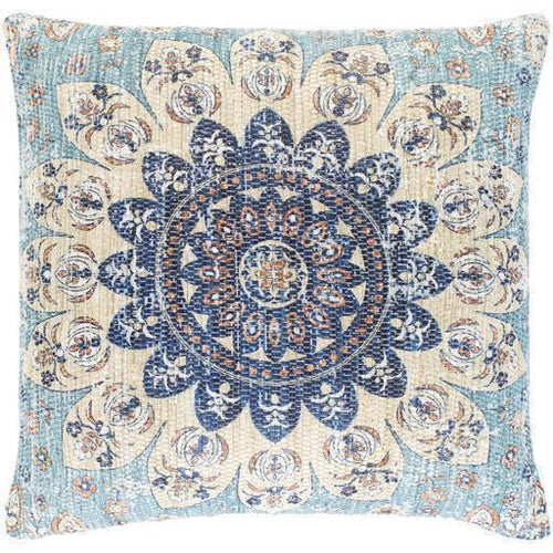 "Surya Devonshire DVS-009 Polyester Global Pillow-Pillows-Surya-Beige-26"" x 26"" Pillow-Heaven's Gate Home"