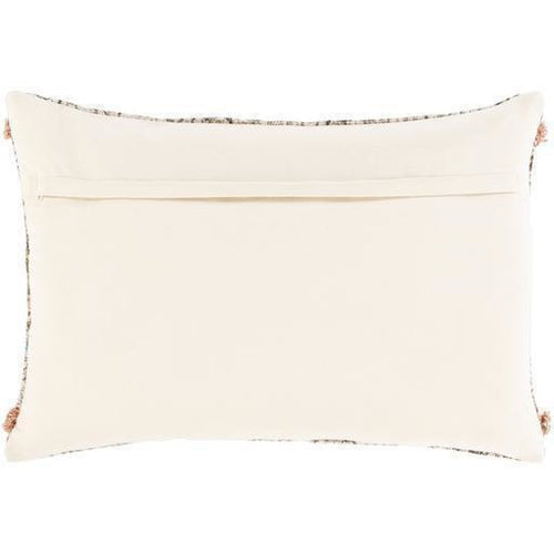 "Surya Dayna DYA-004 Cotton Global Pillow-Pillows-Surya-Tan-16"" x 24"" Pillow-Heaven's Gate Home"
