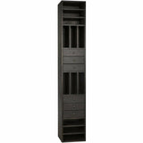 Noir Tubula Bookcase, Ebony Walnut