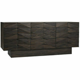 Noir Drake Walnut Sideboard, Ebony Walnut