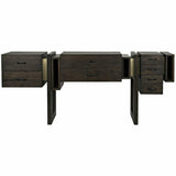 Noir Midlake Walnut Sideboard, Ebony Walnut