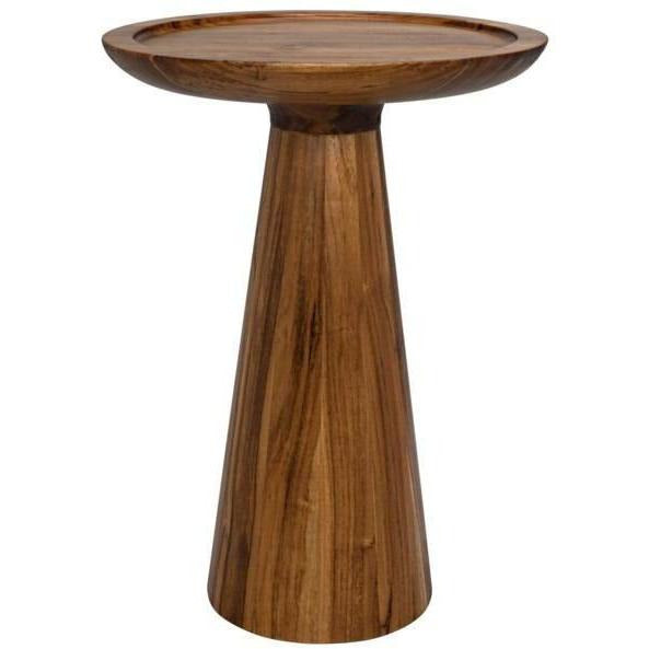 Noir Sean Side Table, Bali Teak-Side Tables-Noir Furniture-Heaven's Gate Home
