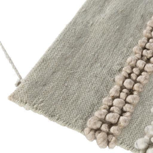 "Surya Hallie HAL-1000 Hand-Woven Wall Hanging, Khaki-Wall Hangings-Surya-44"" x 22""-Beige-Heaven's Gate Home"