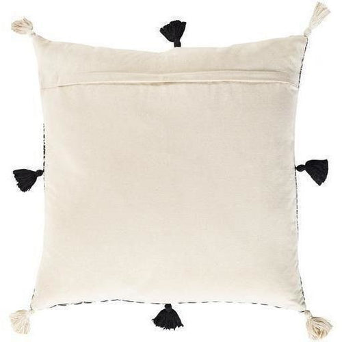 Surya Justine JTI-002 Cotton Global Pillow-Pillows-Surya-Heaven's Gate Home