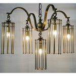Noir Chandler Chandelier-Chandeliers-Noir Furniture-Heaven's Gate Home
