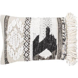 Surya Leonese LOS-001 Polyester Global Pillow-Pillows-Surya-White-14