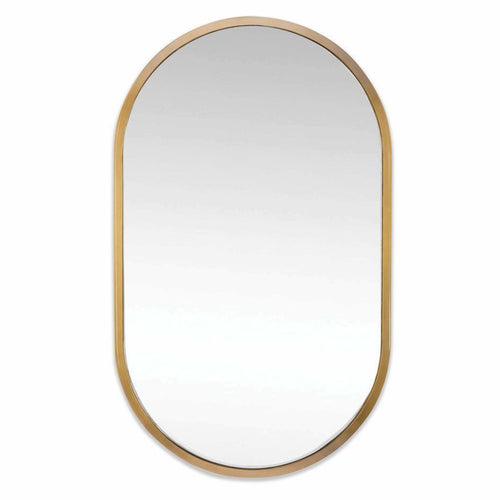 Regina Andrew Canal Mirror, Natural Brass-Mirrors-Regina Andrew-Heaven's Gate Home, LLC