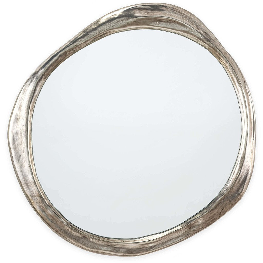 Regina Andrew Ibiza Resin Mirror, Antique Silver