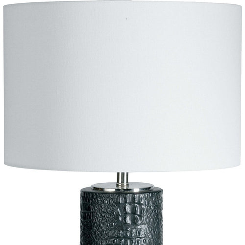 Regina Andrew Blake Ceramic Table Lamp (Ebony)