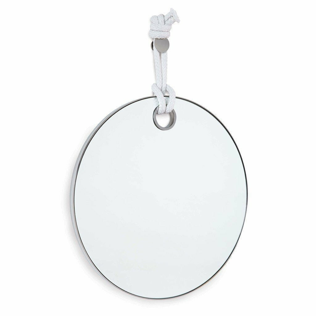 Regina Andrew Porter Mirror, Polished Nickel-Mirrors-Regina Andrew-Heaven