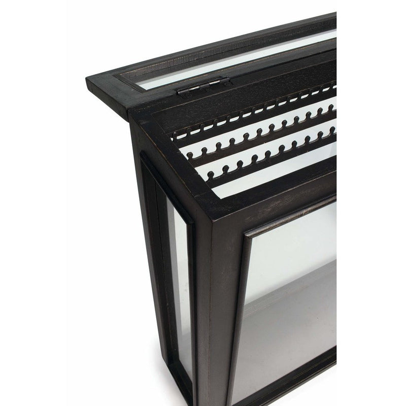 Regina Andrew Jewelry Tabletop Display Case, Ebony