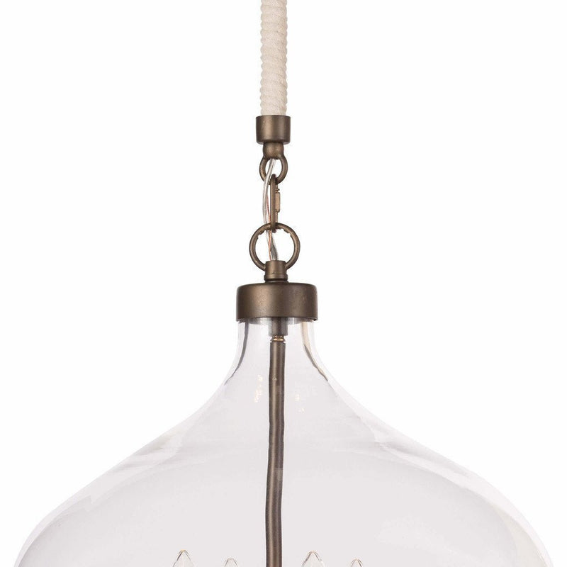 Coastal Living Dover Pendant, Oil Rubbed Bronze-Pendant Lamps-Coastal Living-Heaven's Gate Home