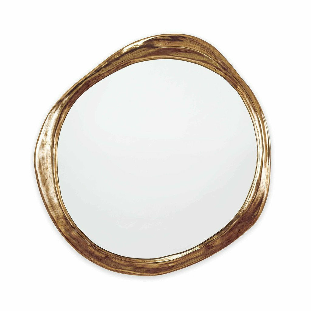 Regina Andrew Ibiza Resin Mirror, Antique Gold