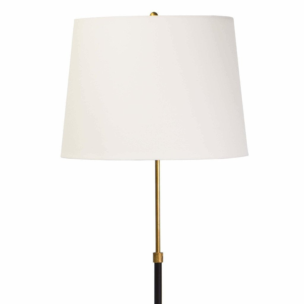 Coastal Living Parasol Modern Aluminum Floor Lamp, Gold Leaf-4