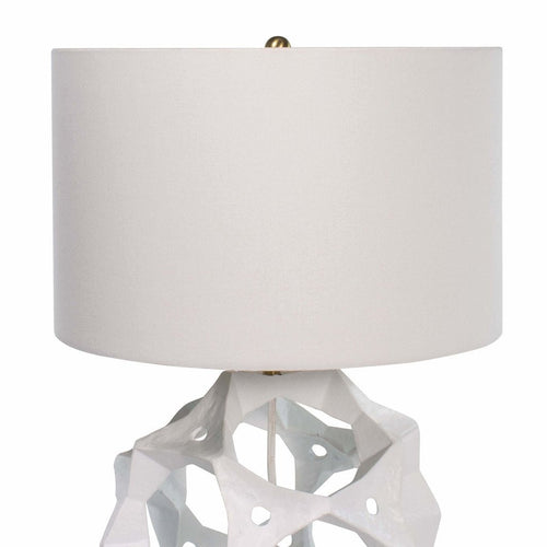 Regina Andrew Celestial Aluminium Table Lamp, White