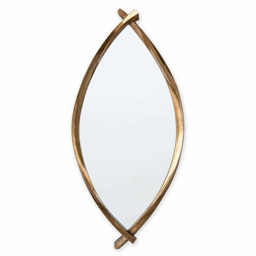 Regina Andrew Arbre Mirror, Antique Gold-Mirrors-Regina Andrew-Heaven's Gate Home, LLC
