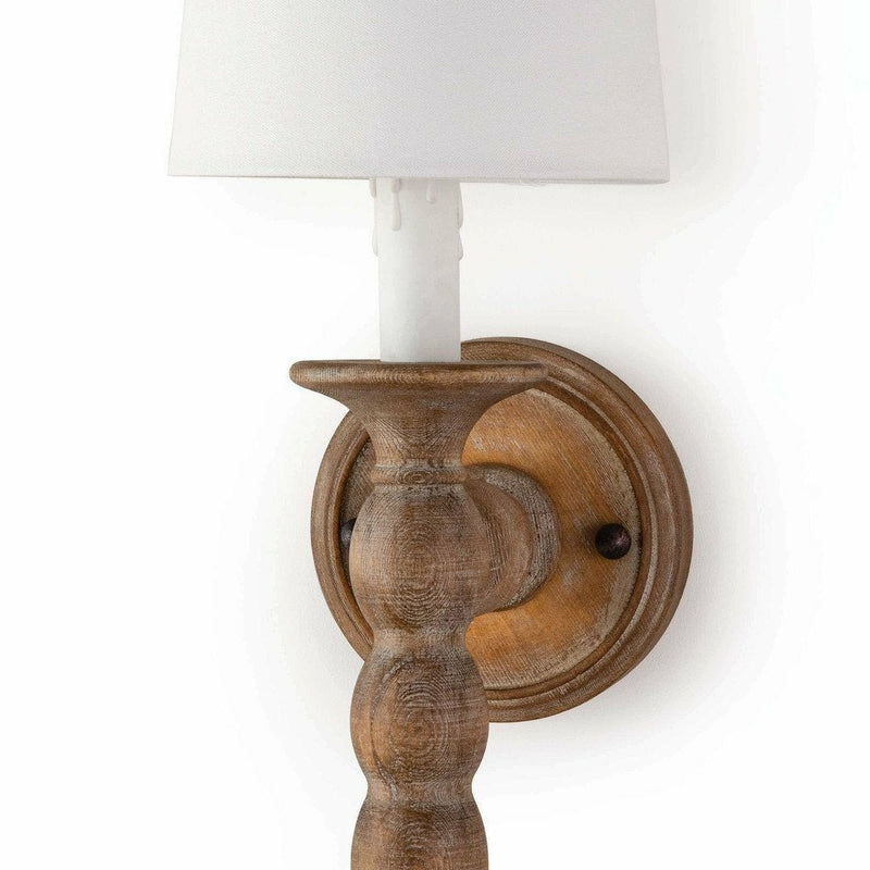Coastal Living Perennial Sconce, Natural-Wall Sconces-Coastal Living-Heaven's Gate Home