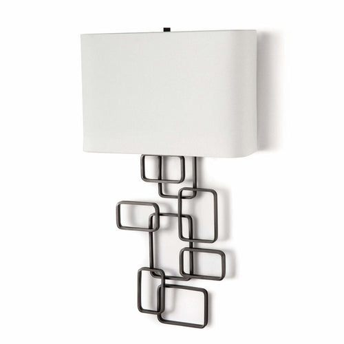 Regina Andrew Simon Steel Wall Sconce, Oil Rubbed Bronze-Wall Lamps-Regina Andrew-Heaven's Gate Home, LLC