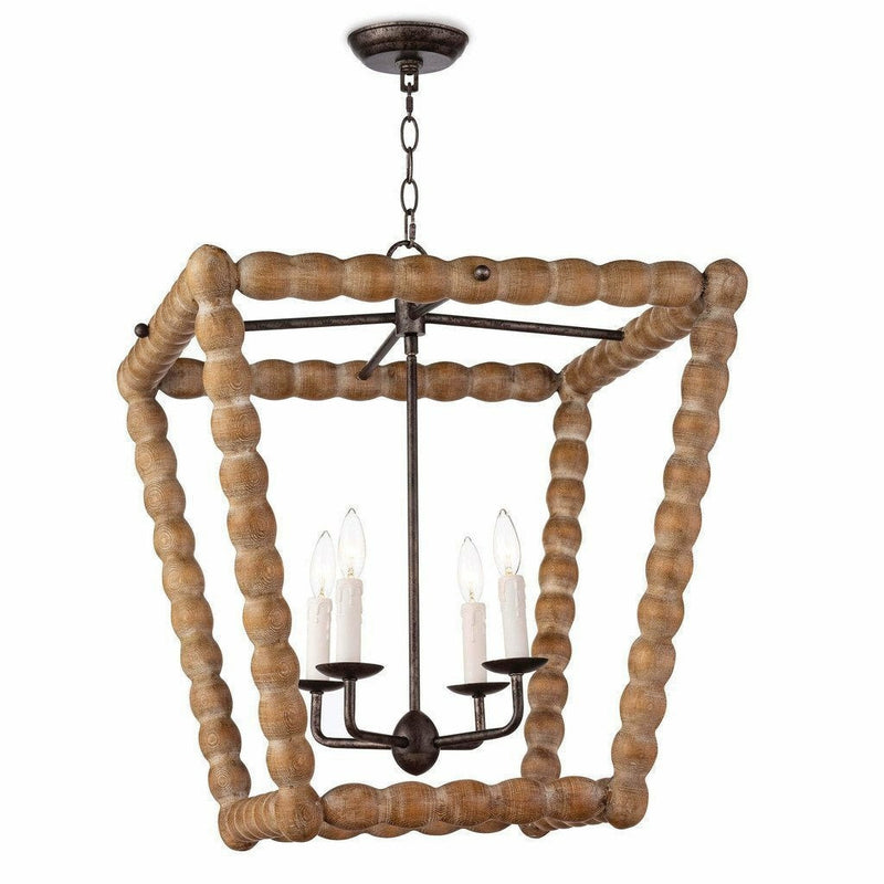 Coastal Living Perennial Lantern, Natural-Chandeliers-Coastal Living-Heaven's Gate Home