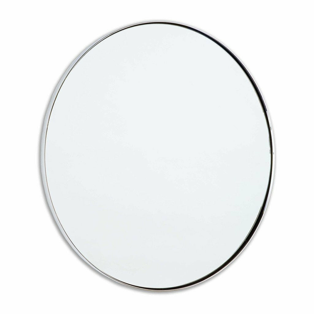 Regina Andrew Rowen Mirror, Polished Nickel-Mirrors-Regina Andrew-Heaven