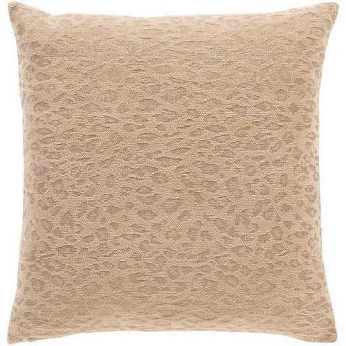 "Surya Madagascar MGS-001 Cotton Global Pillow-Pillows-Surya-Beige-18"" x 18"" Pillow-Heaven's Gate Home"